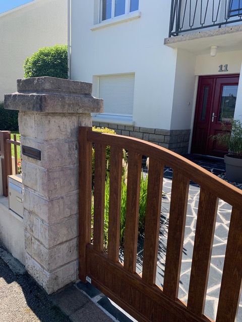 peinture portail